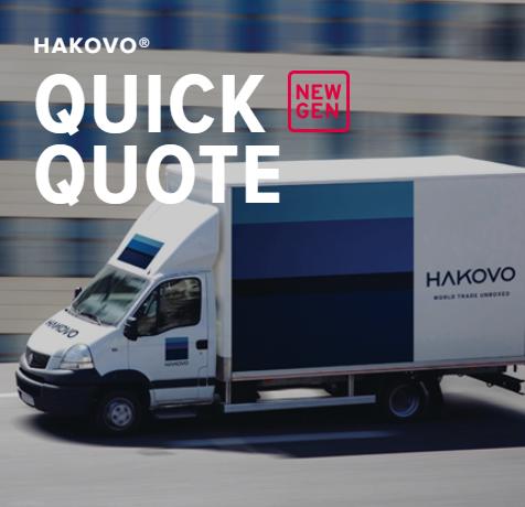 HAKOVO quick quote ocean freight